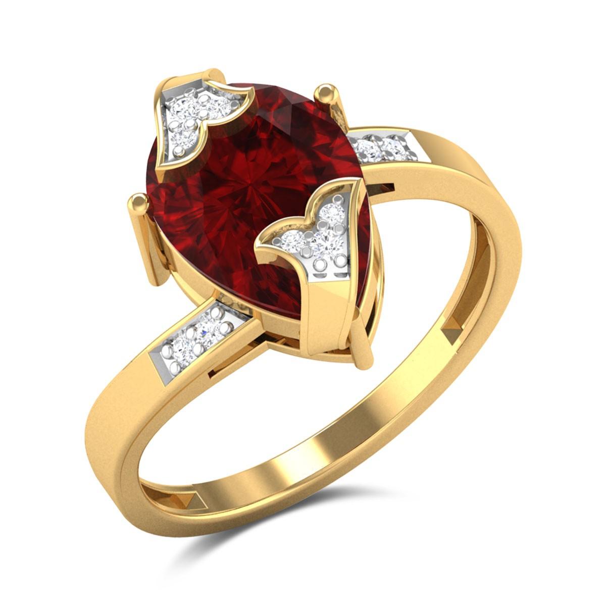 Sanyam Floral Diamond Ring