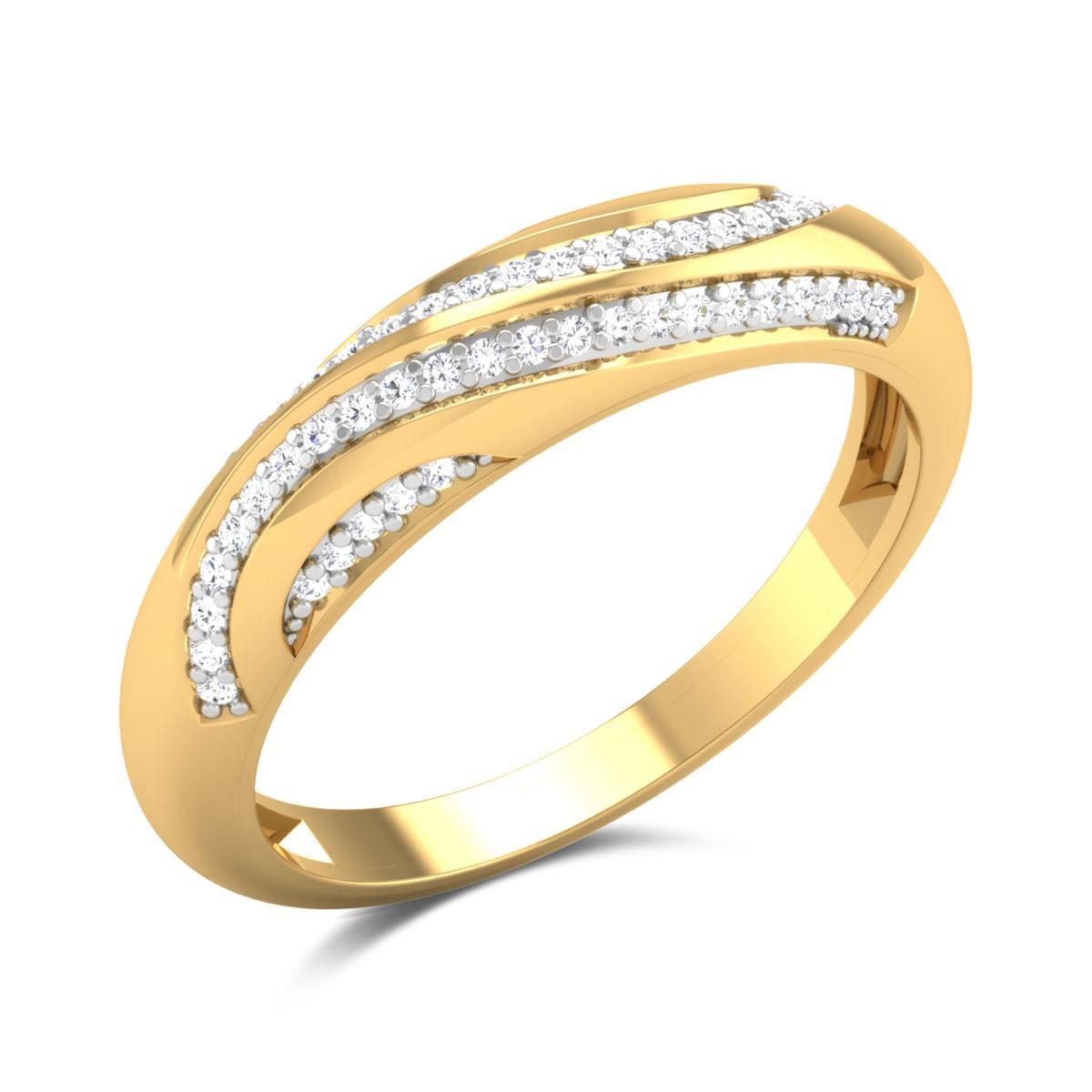Ranita Diamond Band Ring