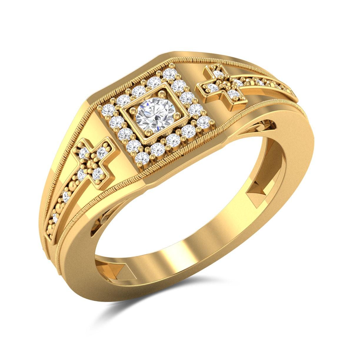 Quindelia Diamond Ring