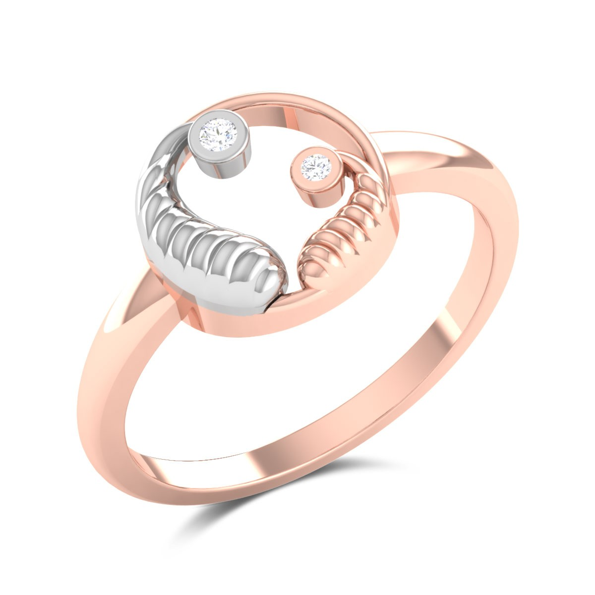 Chahna Mom and Child Diamond Ring
