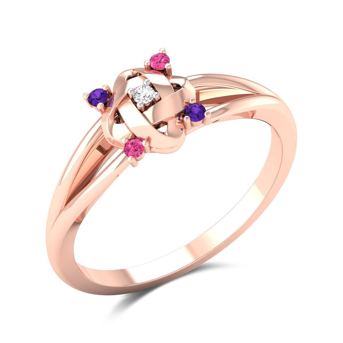 Hayam Split Band Diamond Ring
