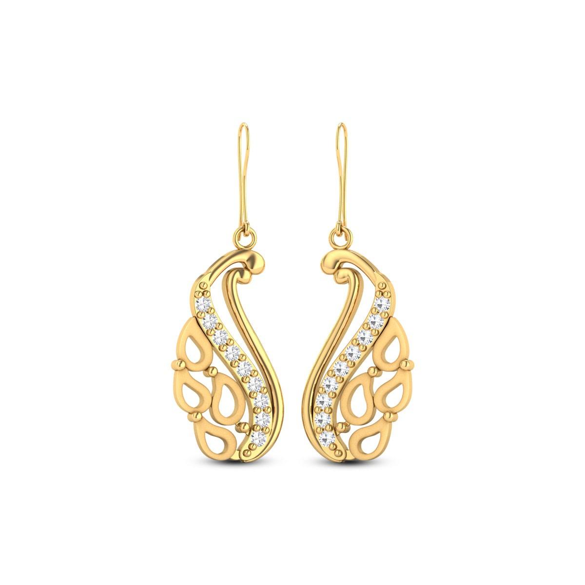 Juno Gold & CZ Earrings