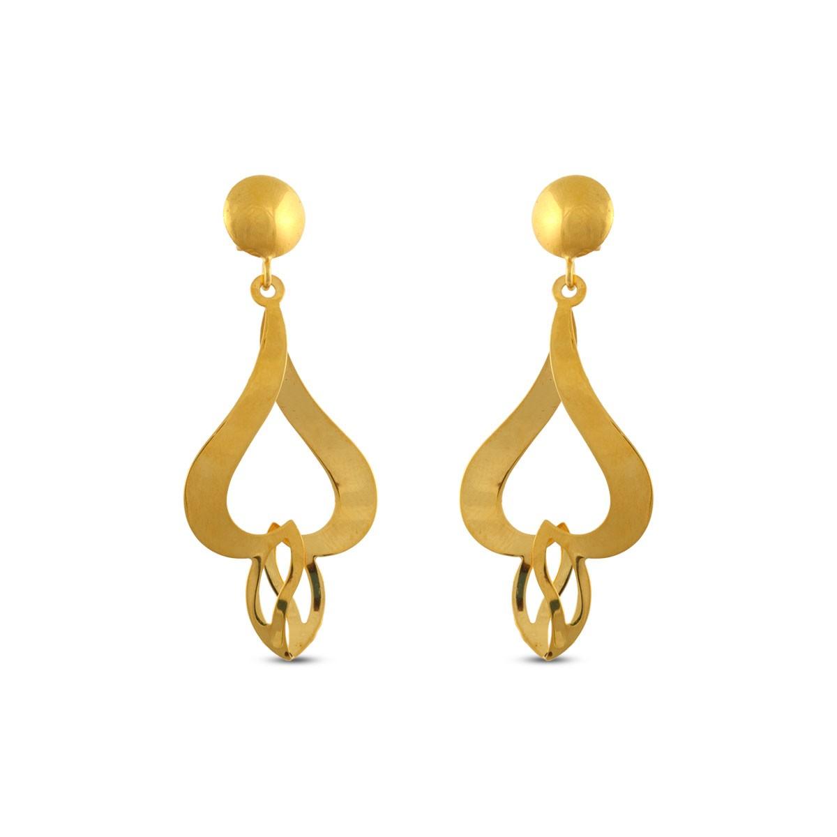 Mercedes Gold Earrings