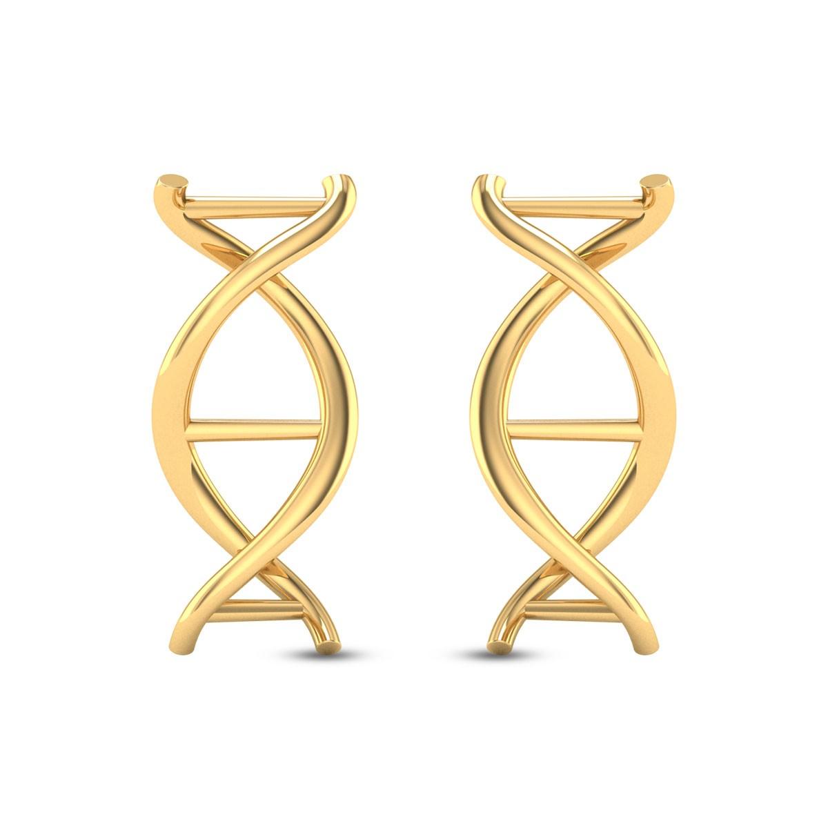 Aayati DNA Stud Earrings