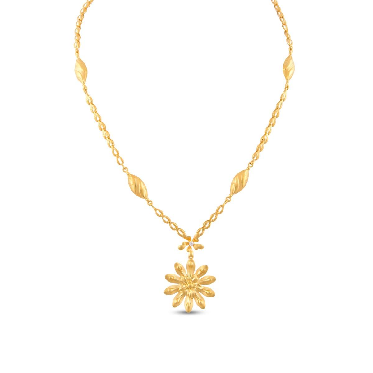Dayita Gold Necklace