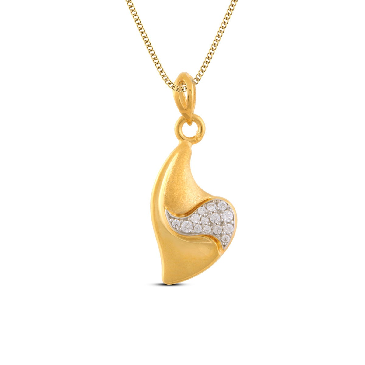 Ding-Dong Gold Pendant