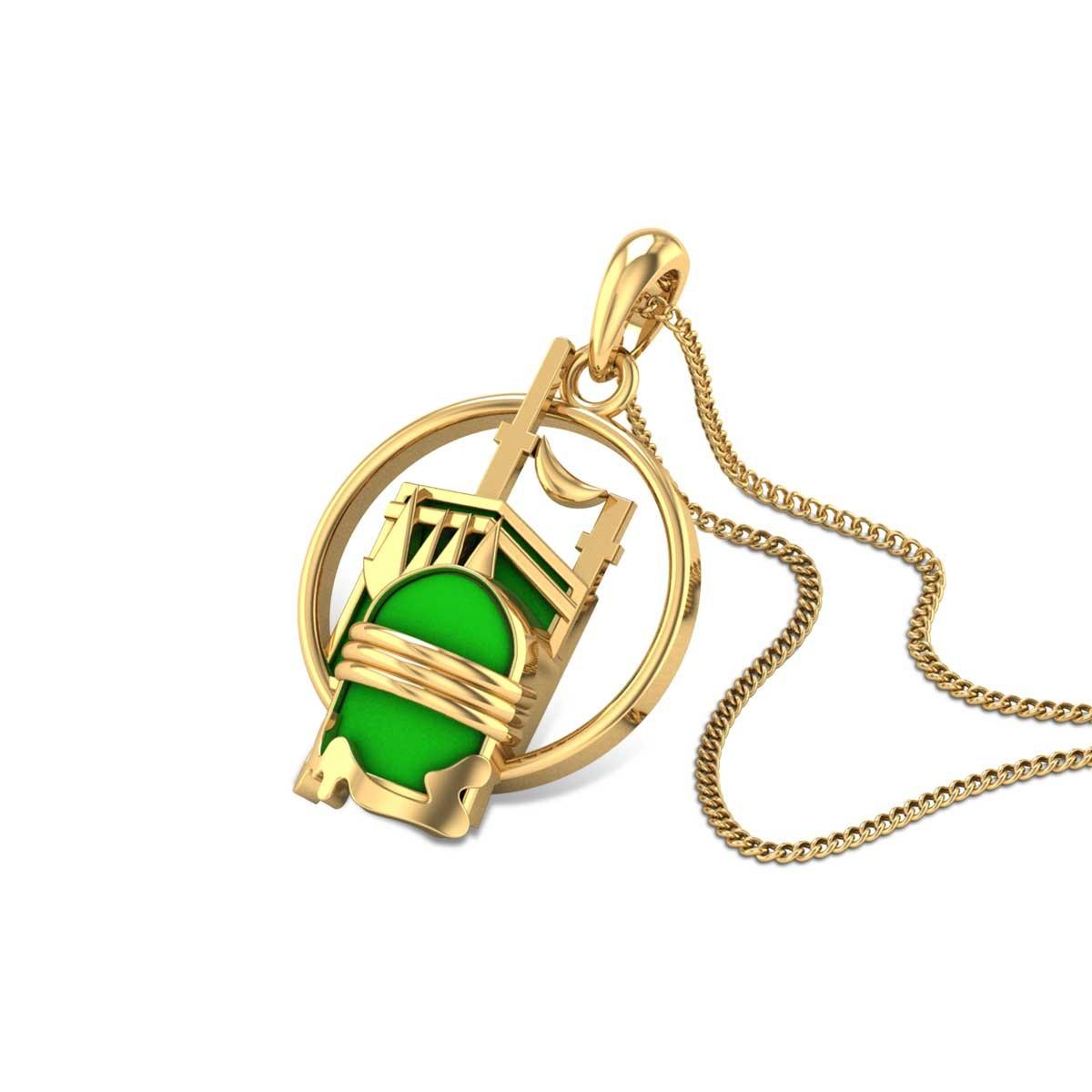 Masha Allah Gold Pendant