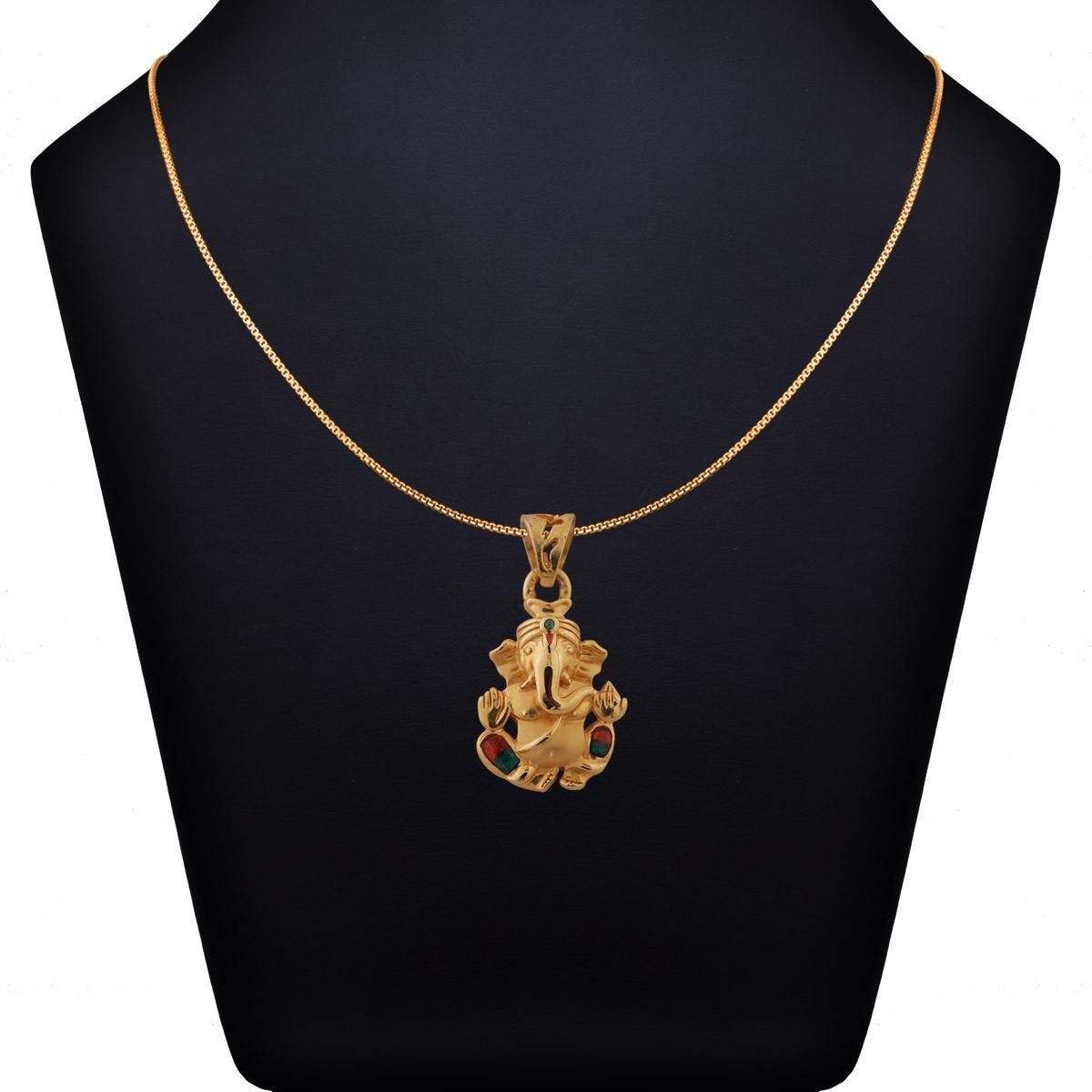 Vezha Mugathonae Gold Pendant