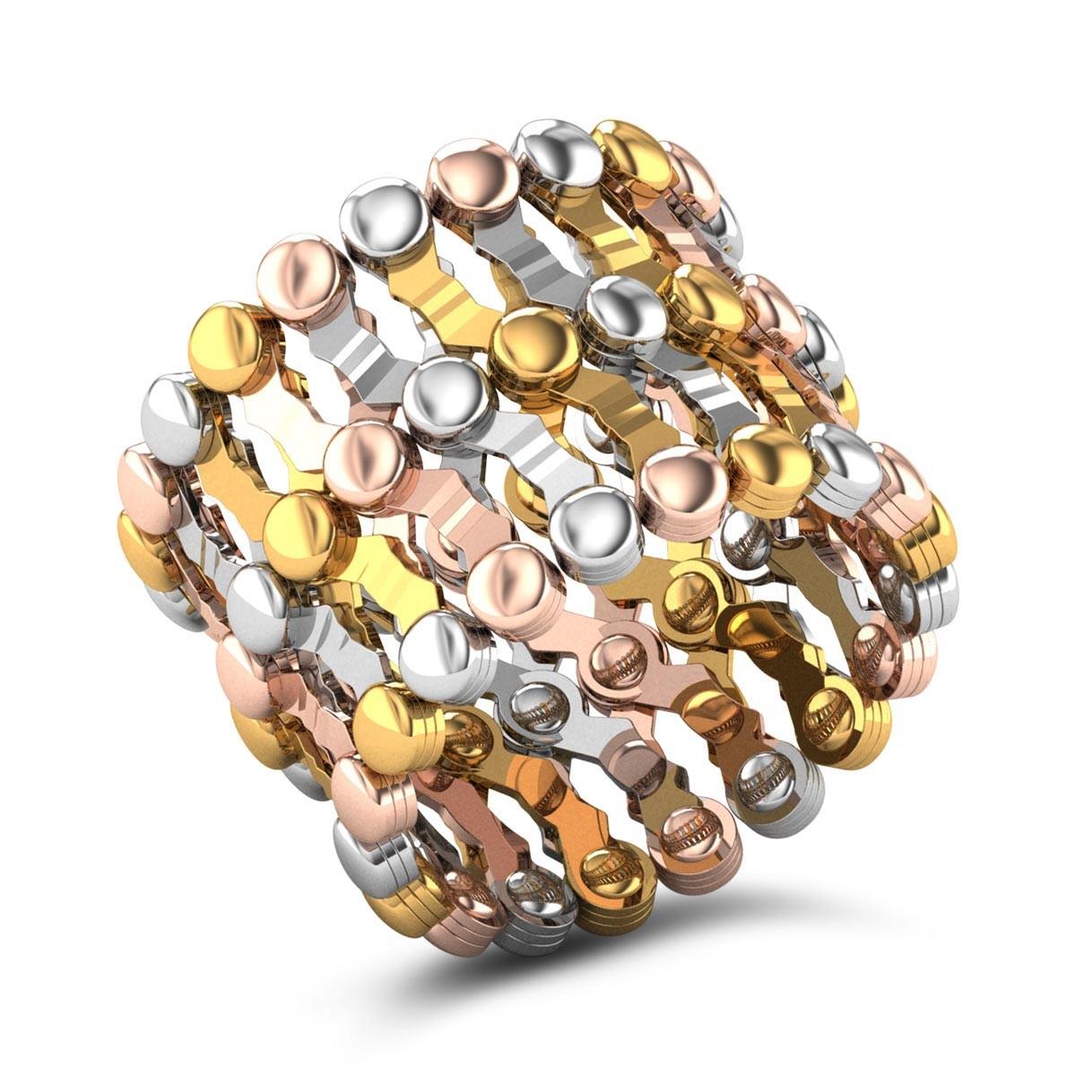 Joana Flexible Gold Ring