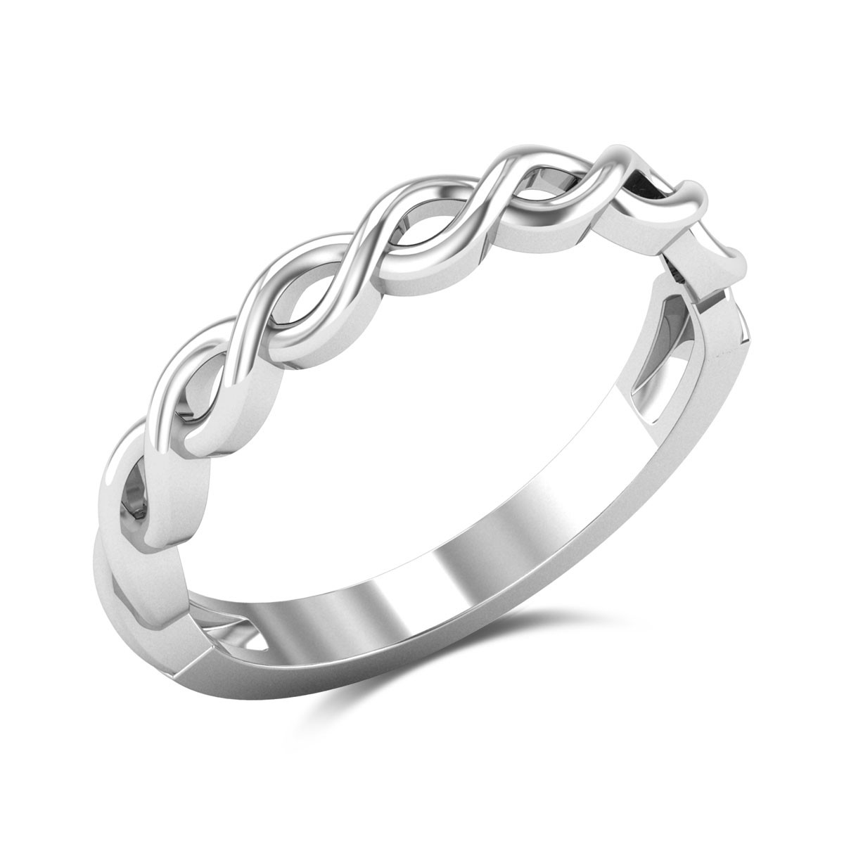 Aboil Twisted Ring