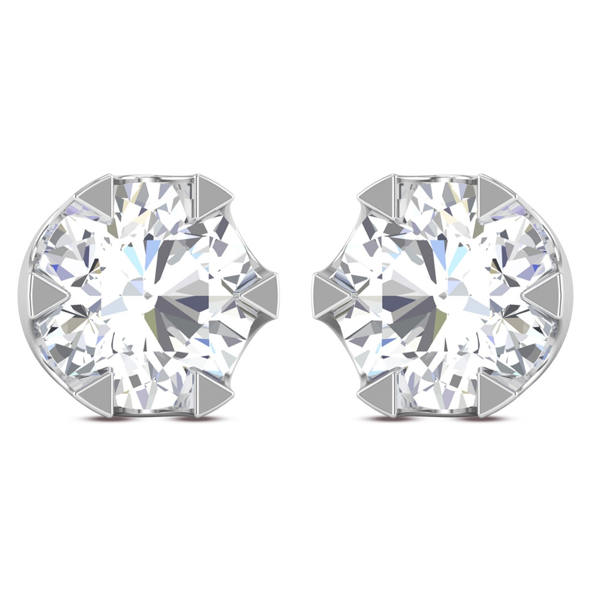 Diarmid Solitaire Earring
