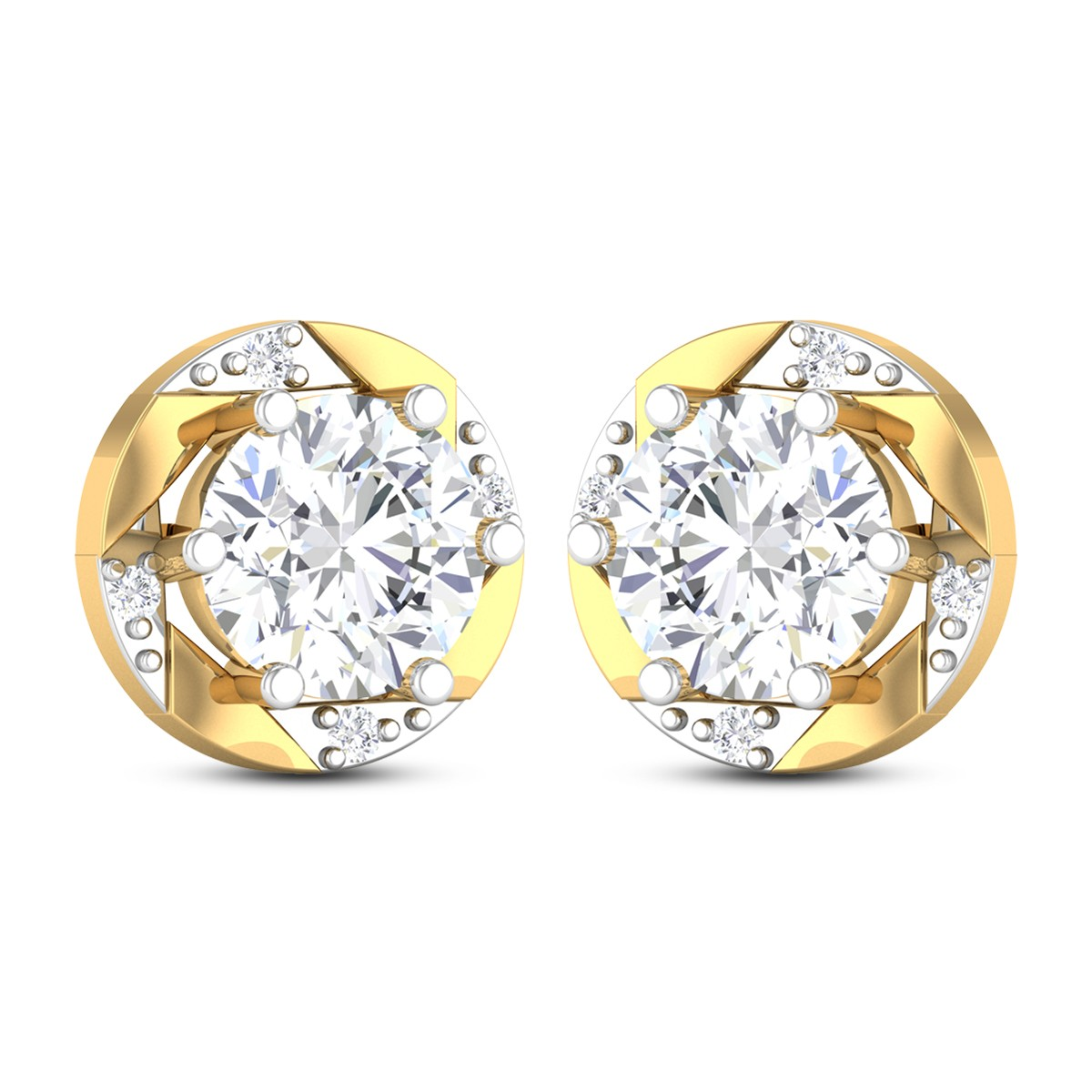 Fonzell Solitaire Earring