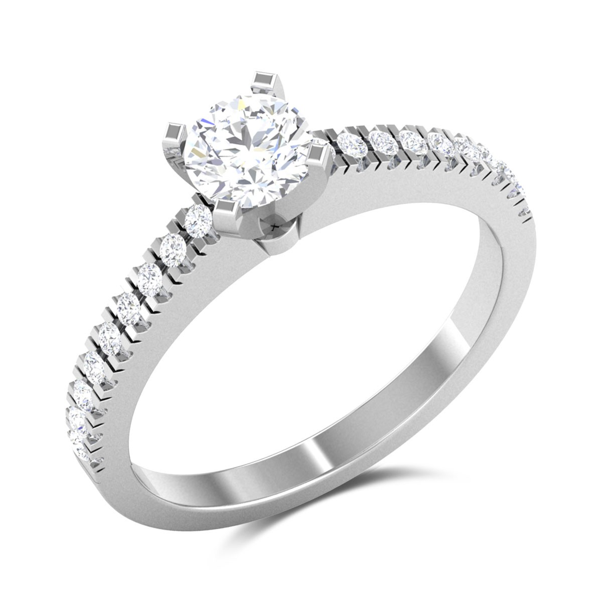 Aislinn 4 Prong Solitaire Ring