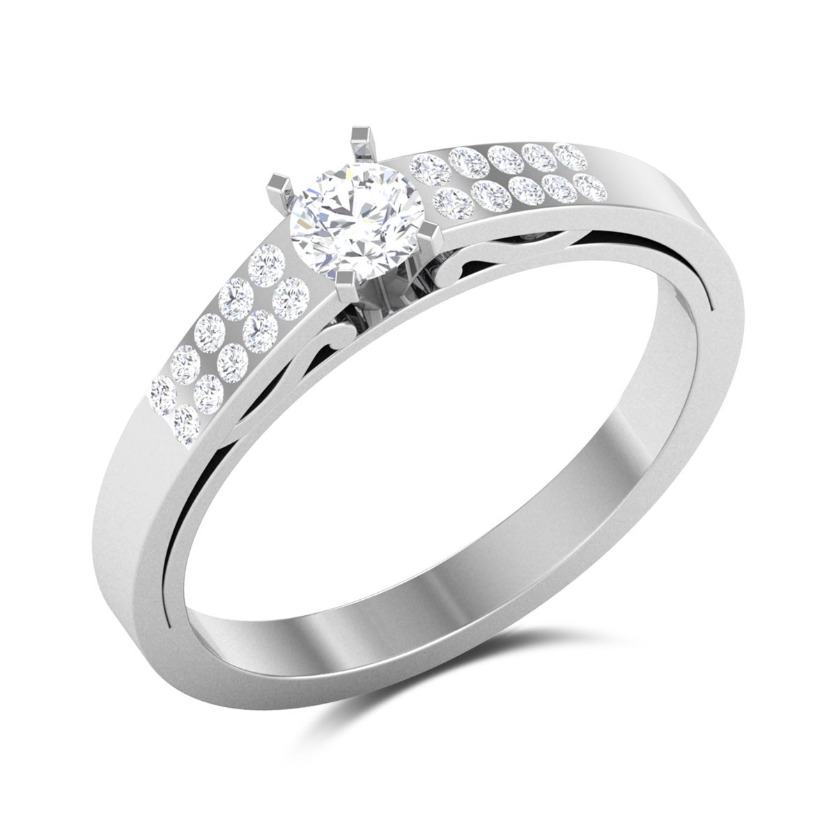 Fenella 4 Prong Solitaire Ring