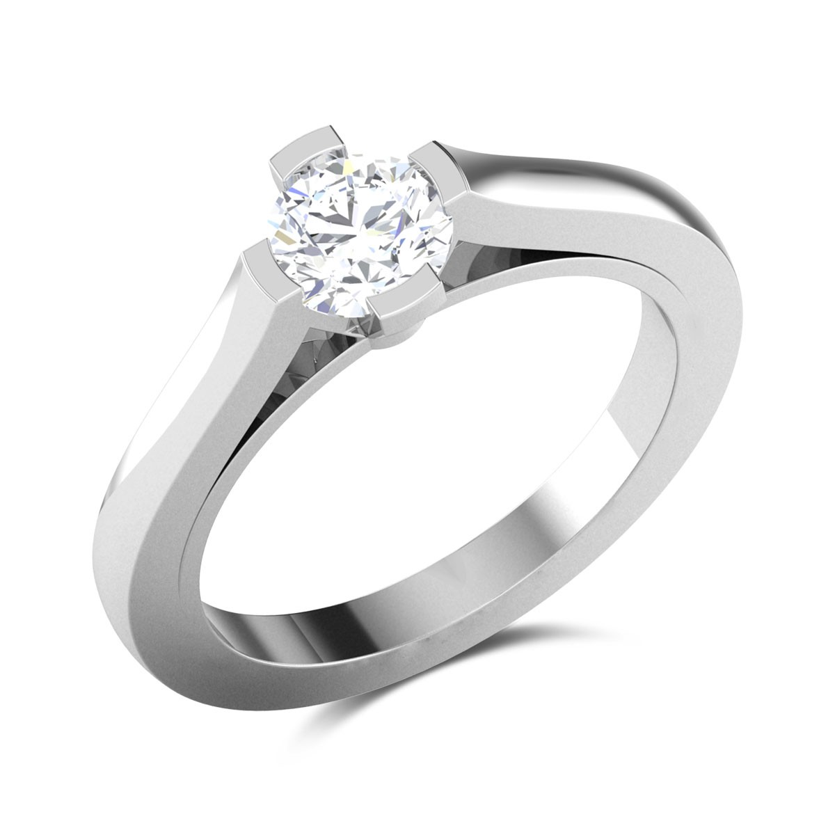 Bisala Solitaire Ring