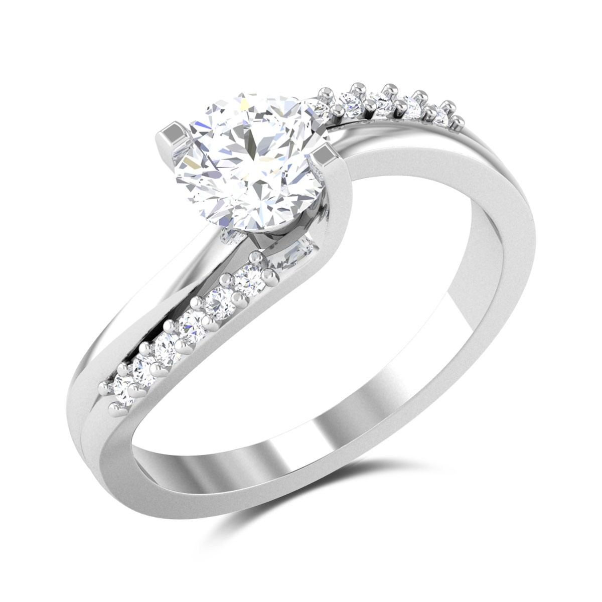 Ceyone Solitaire Ring