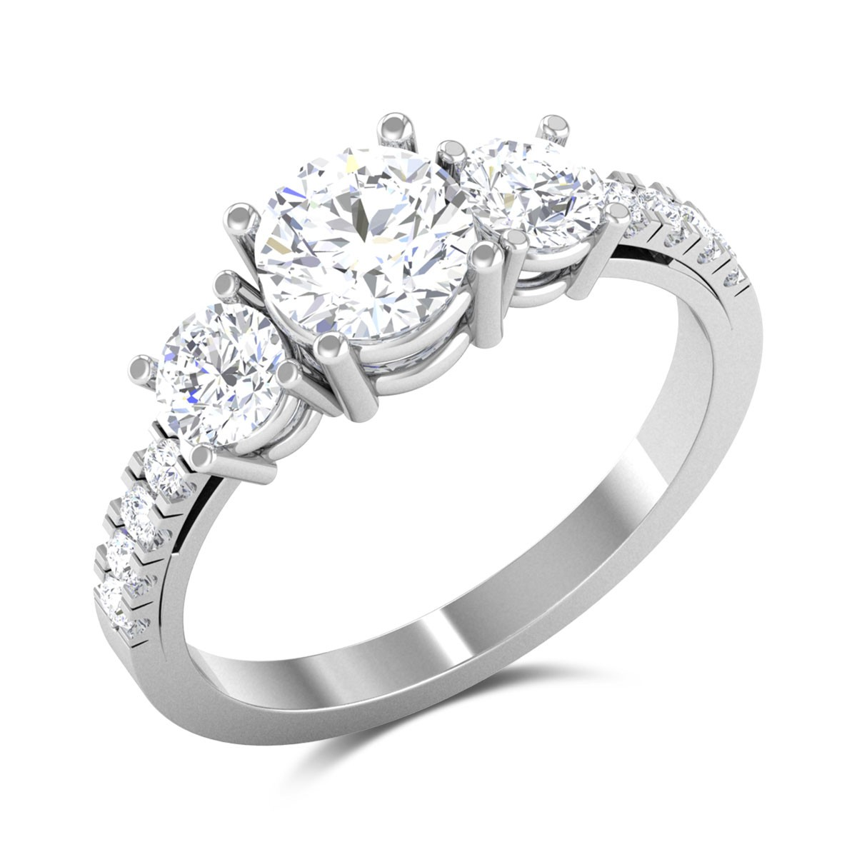 Chahat Solitaire Ring