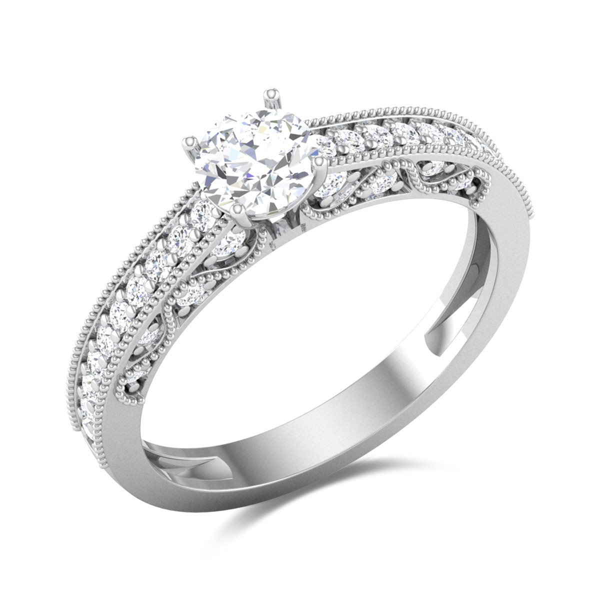 Chaarvi Solitaire Ring