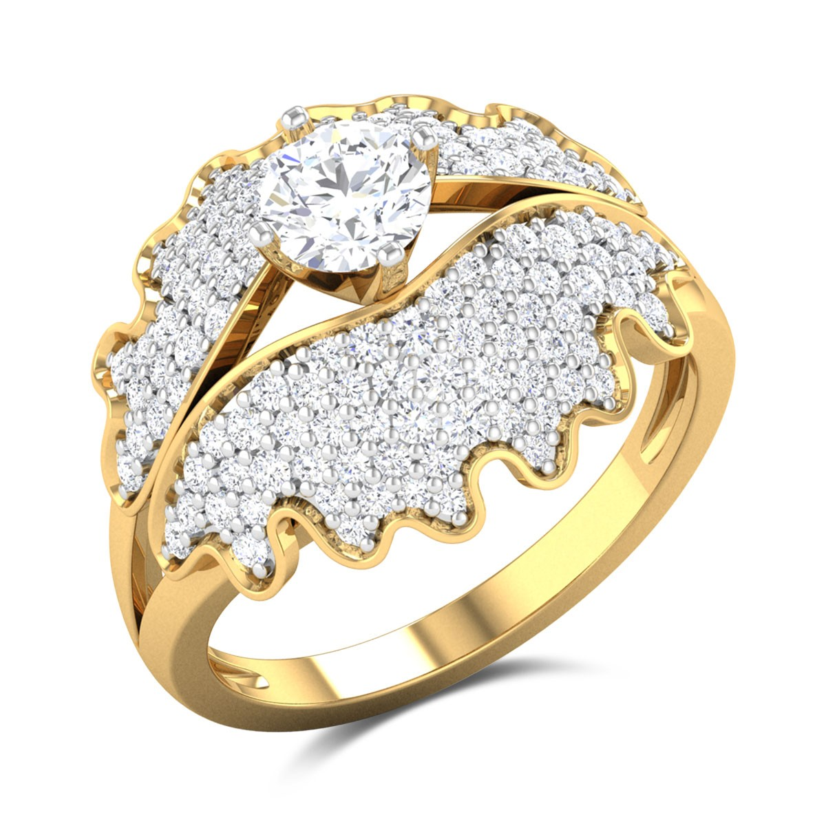 Chaitri Solitaire Ring