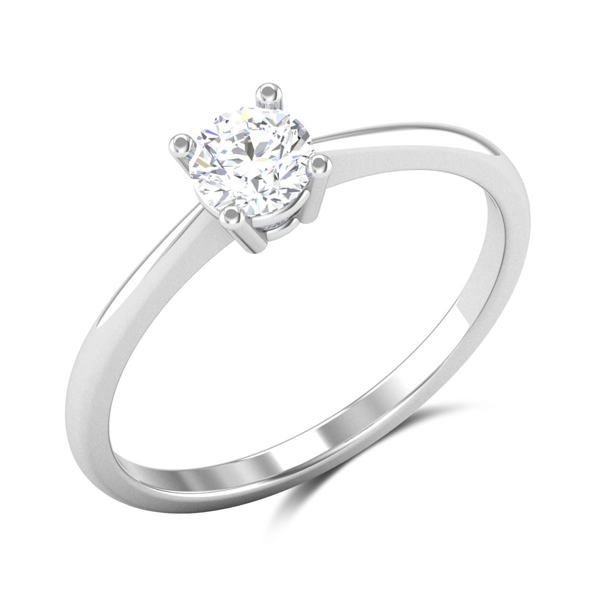Airlia 4 Prong Solitaire Ring