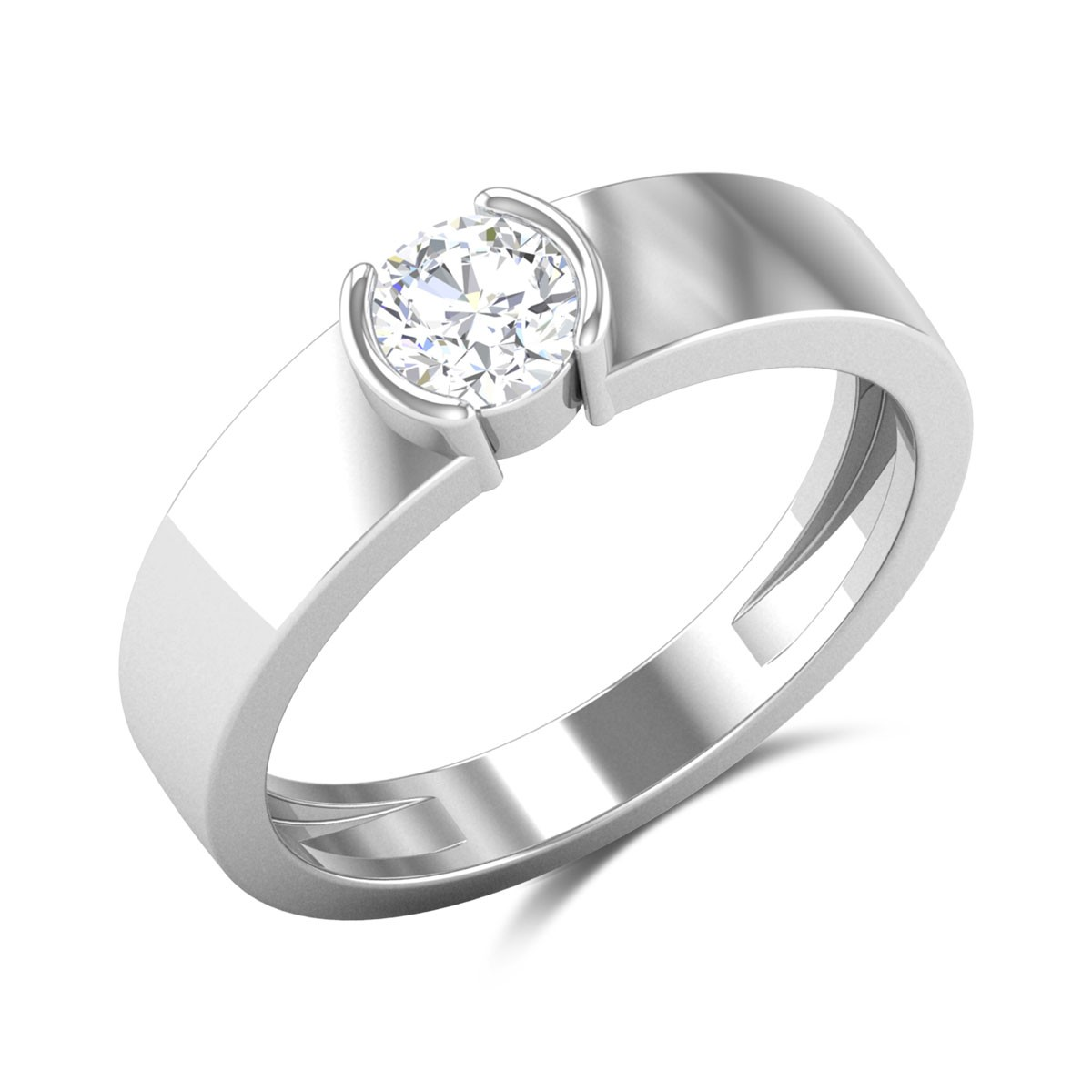 Aslan Solitaire Ring