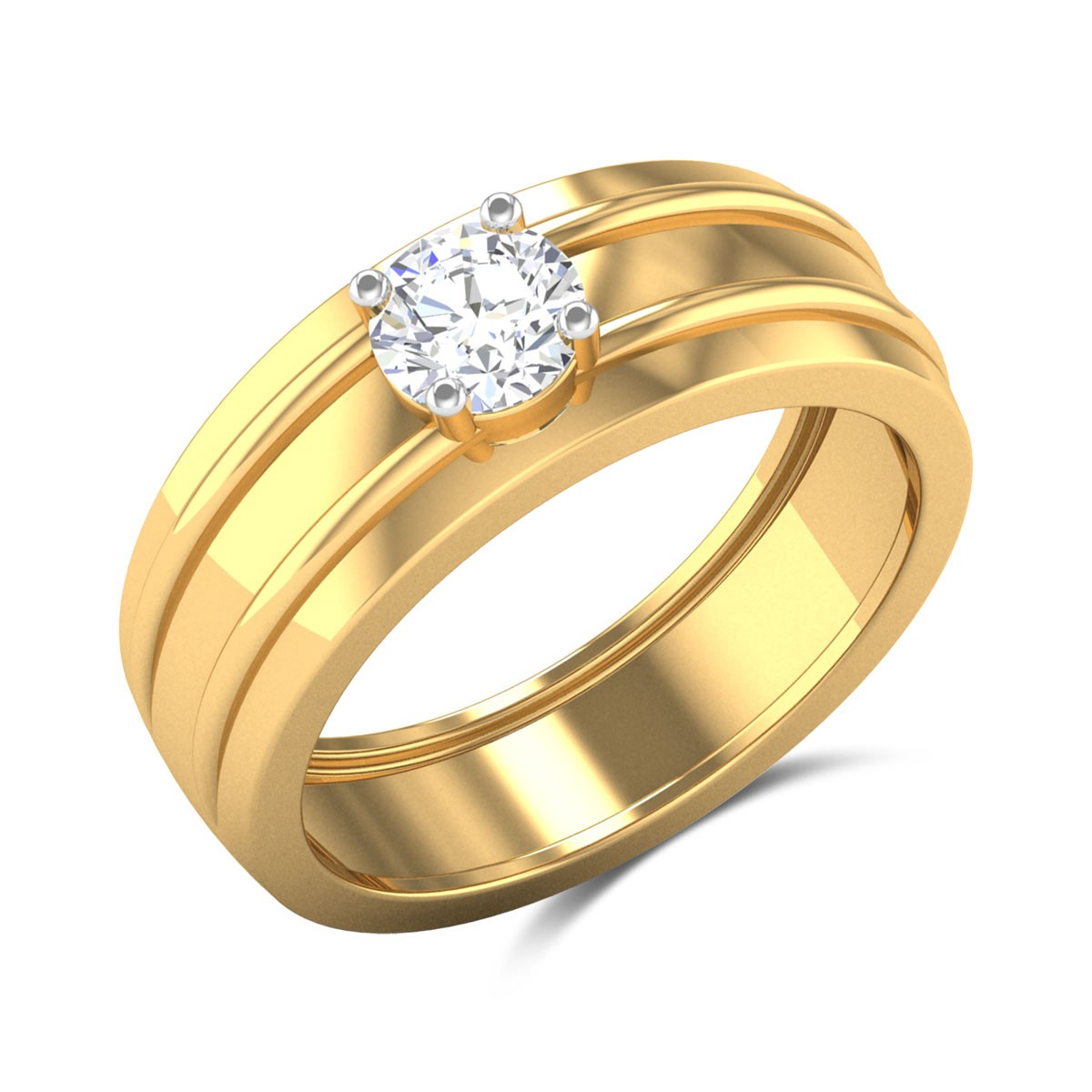 Carmela 4 Prong Solitaire Ring