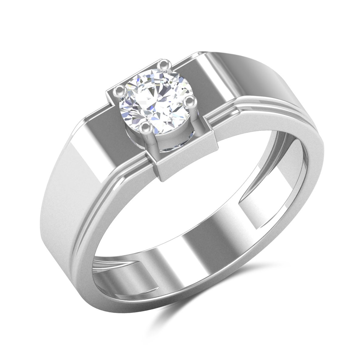 Neema 4 Prong Solitaire Ring