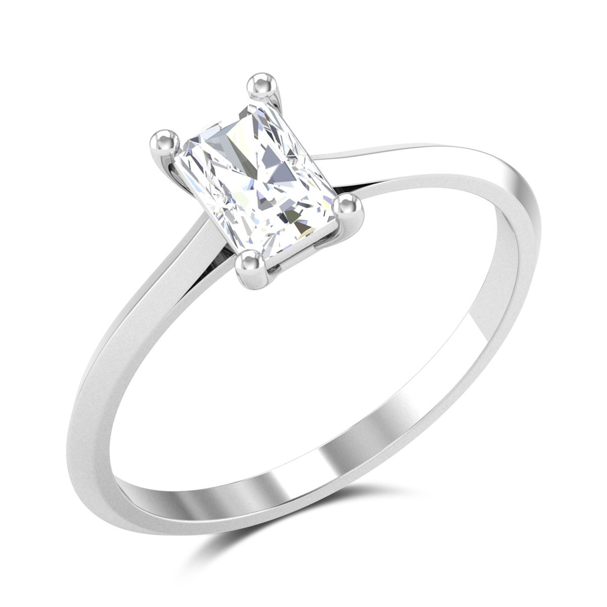 Thornton Radiant Cut Solitaire Ring