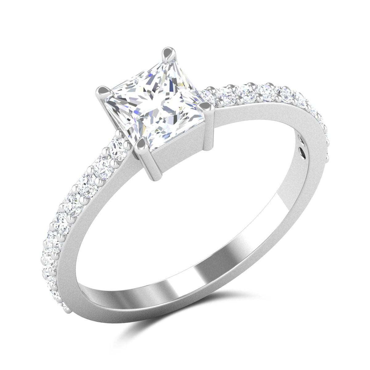 Osborne Princess Cut Solitaire Ring