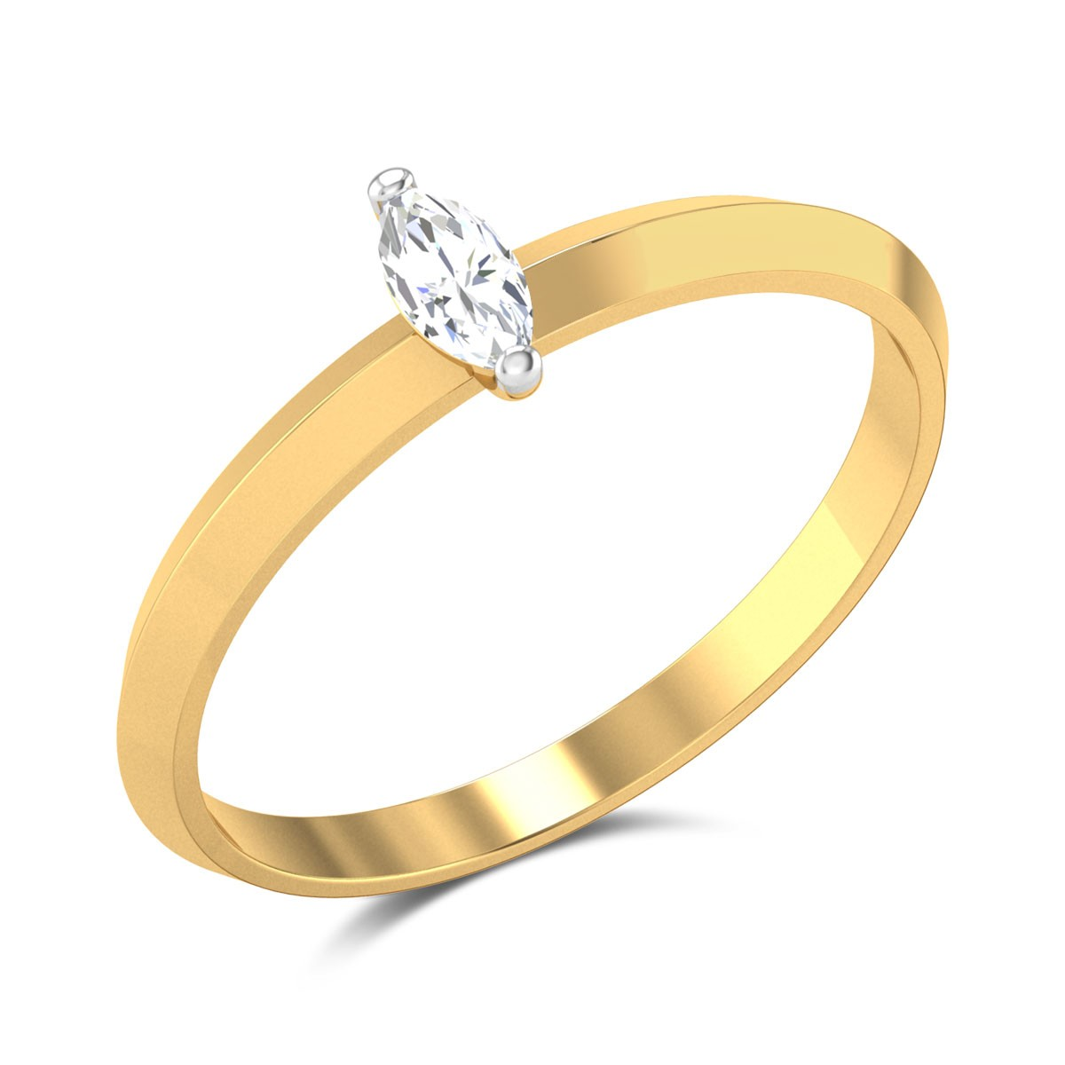 Gianina Marquise Cut Solitaire Ring