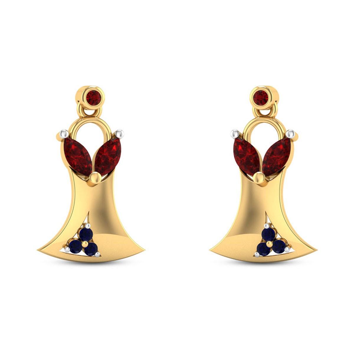 Varali Stud Earrings