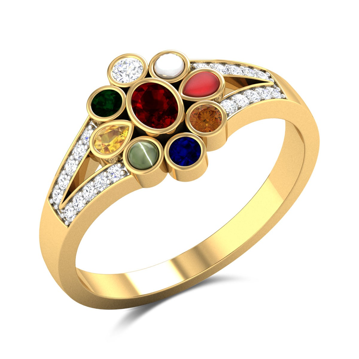 Ilithyia Navratna Ring