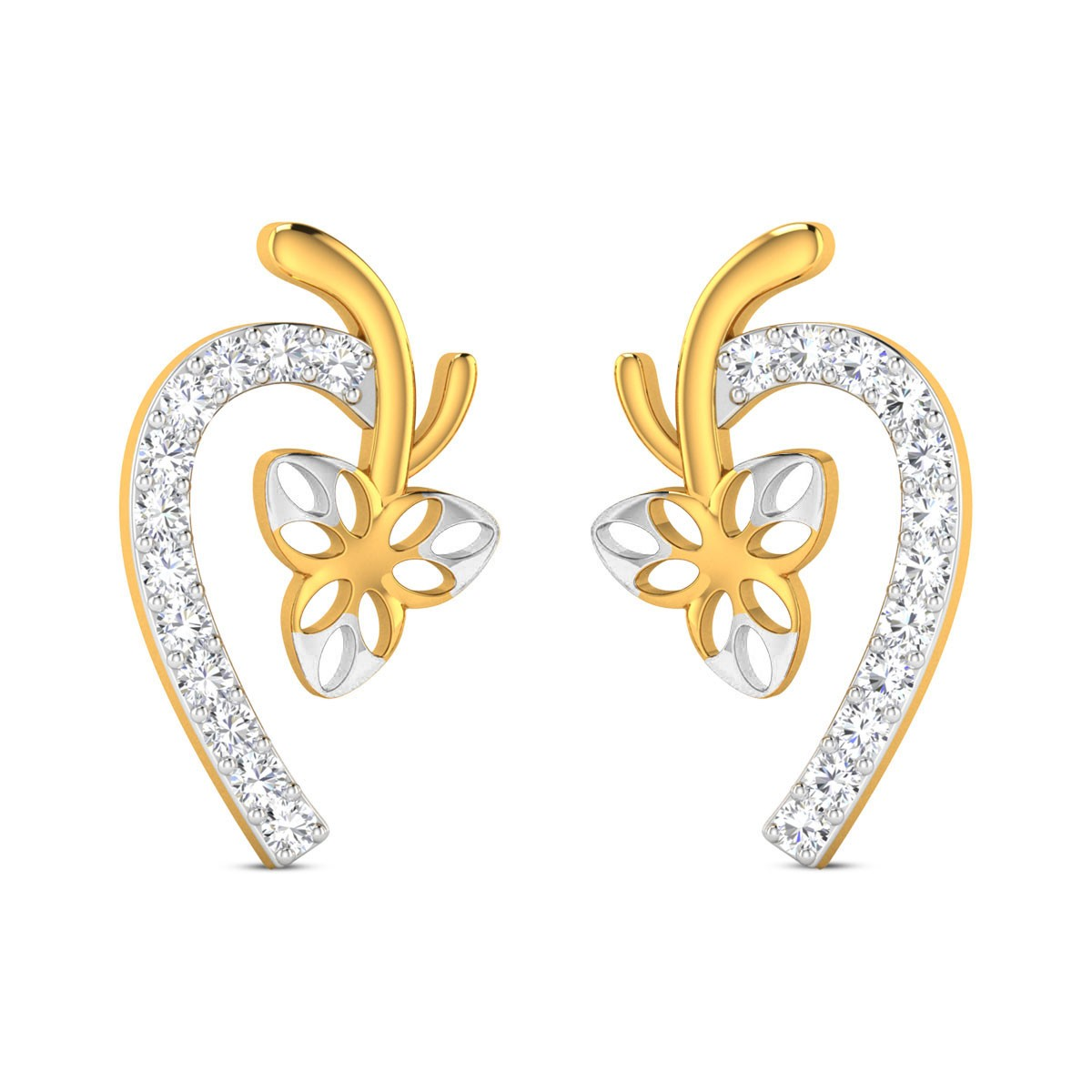 Ianthe Diamond Earrings
