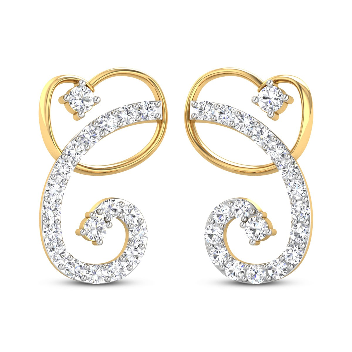 Rosalia Diamond Earrings