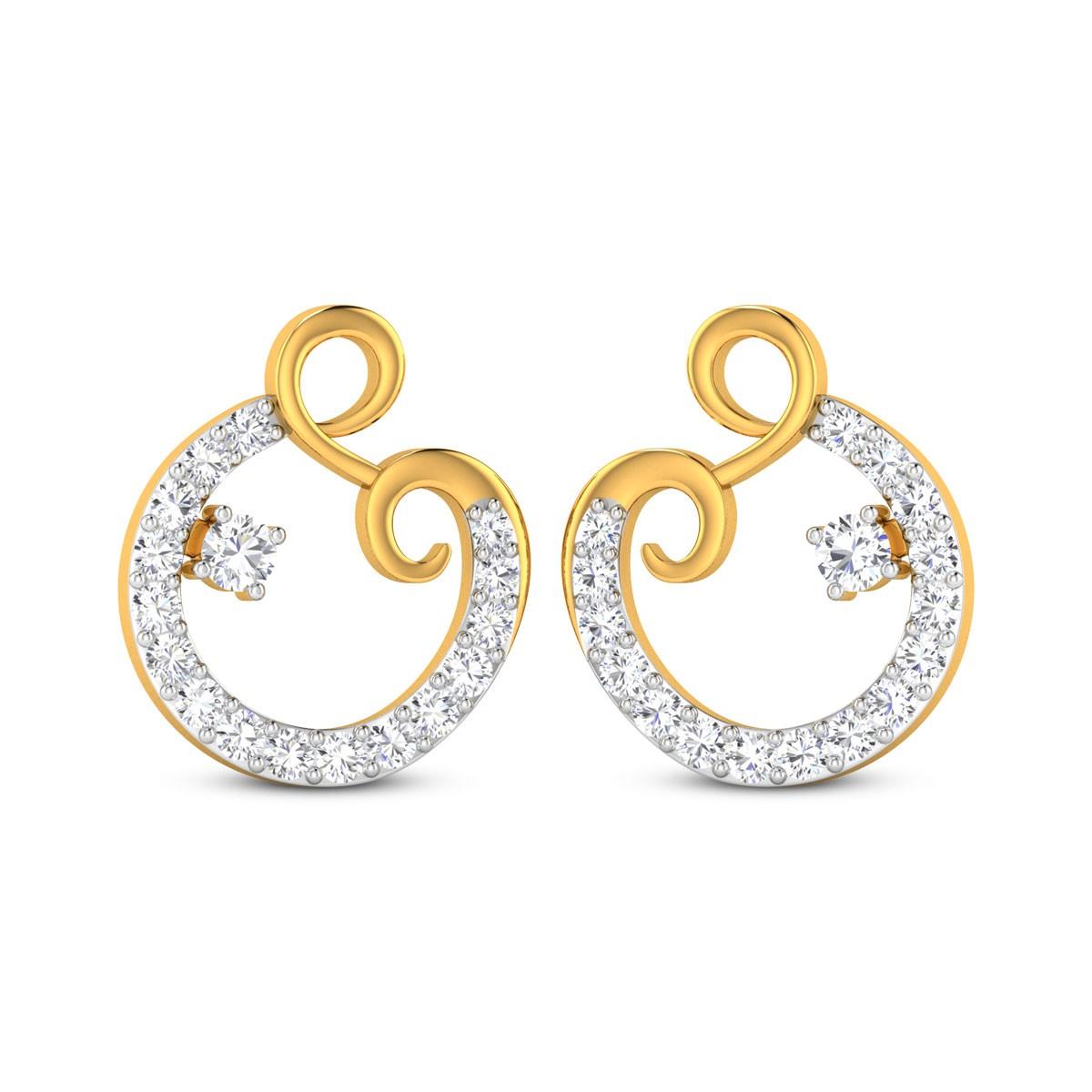 Astra Diamond Earrings