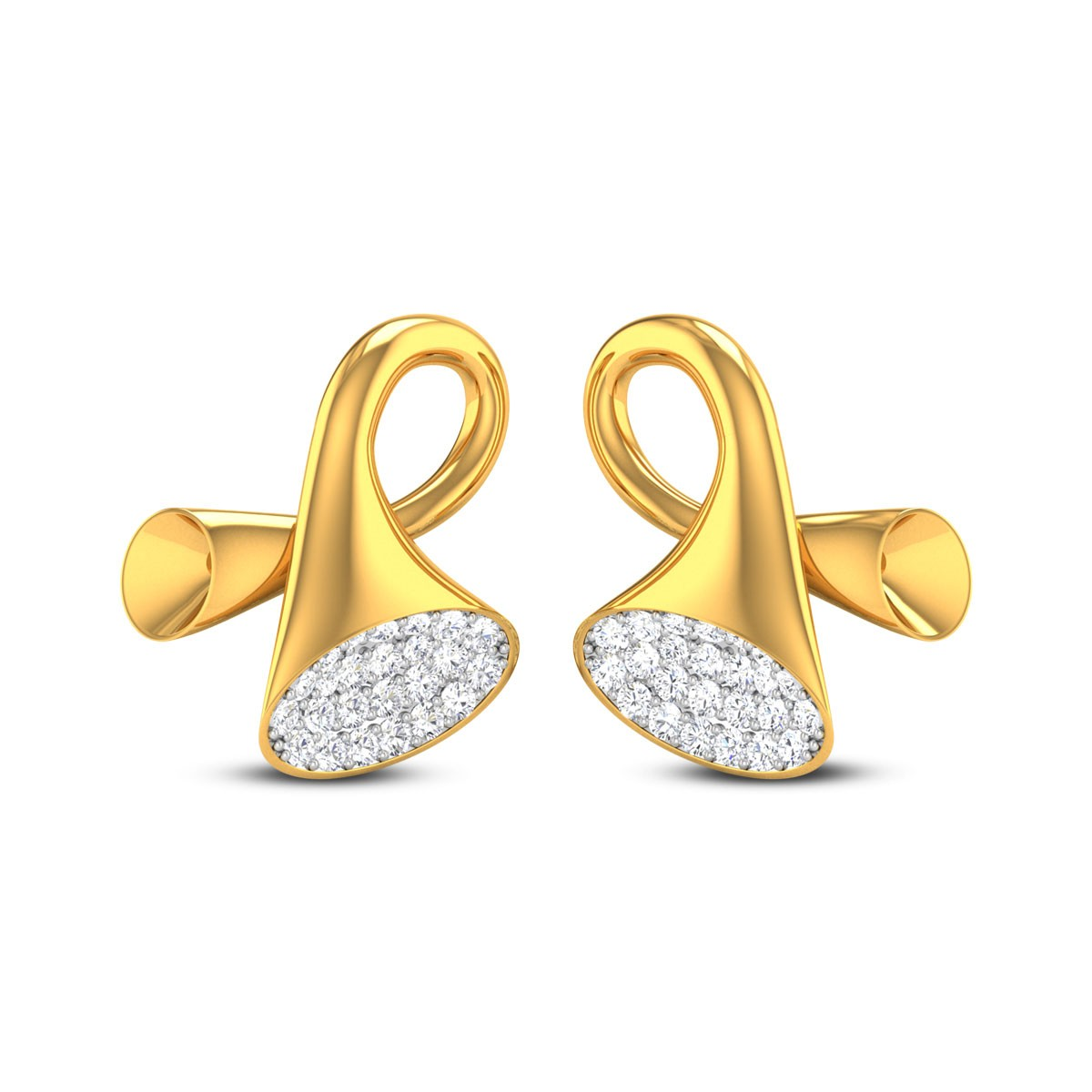 June Diamond Earrings