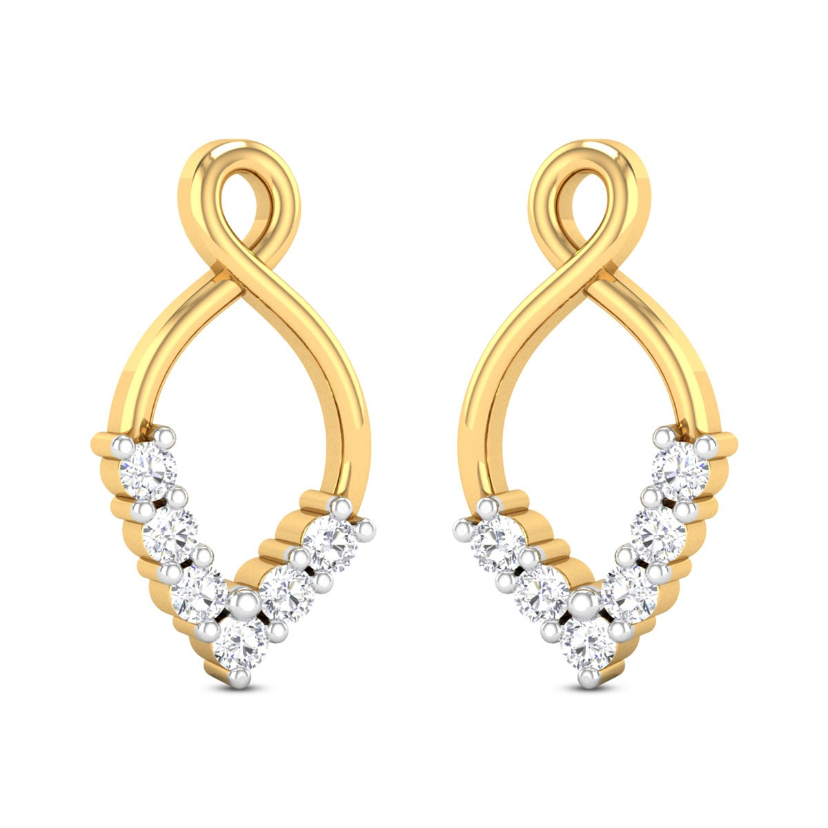 Claire Diamond Earrings