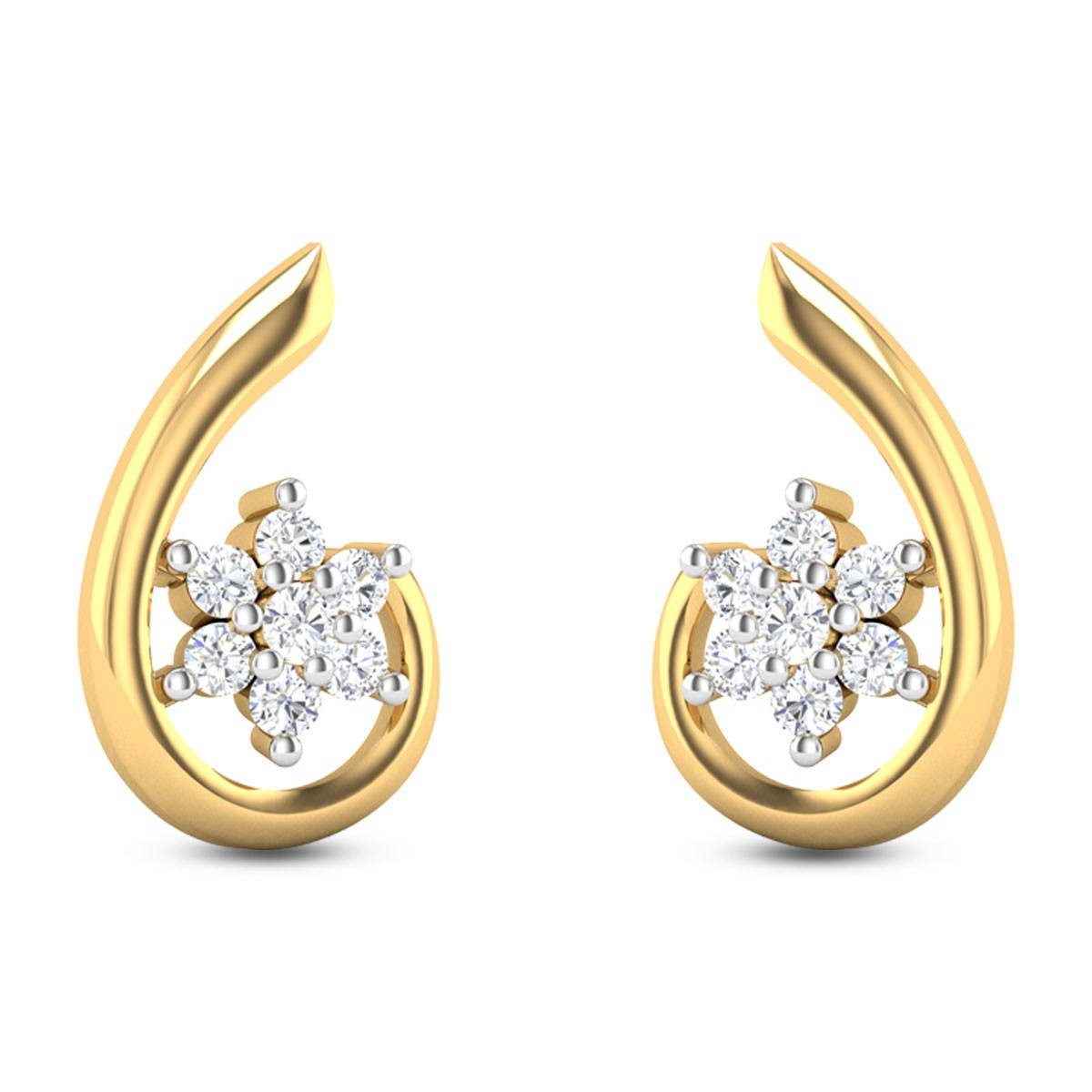 Flora Diamond Earrings