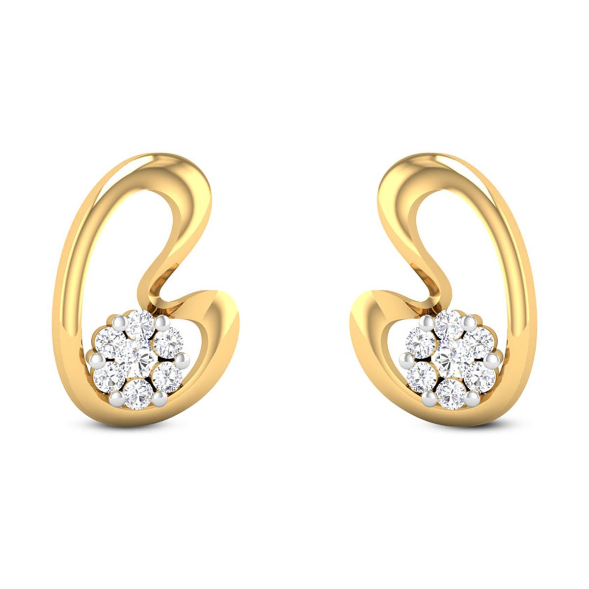 Hannah Diamond Earrings