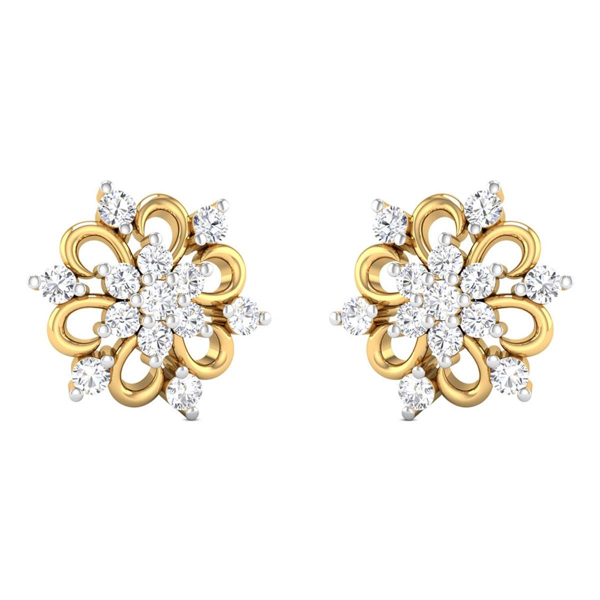 Vanessa Diamond Earrings