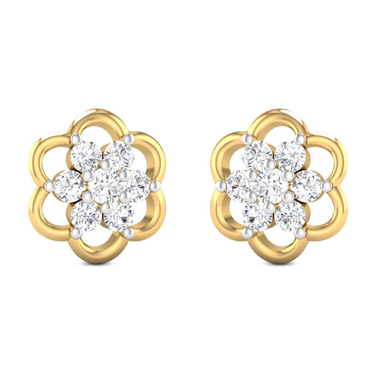 Aza Diamond Earrings
