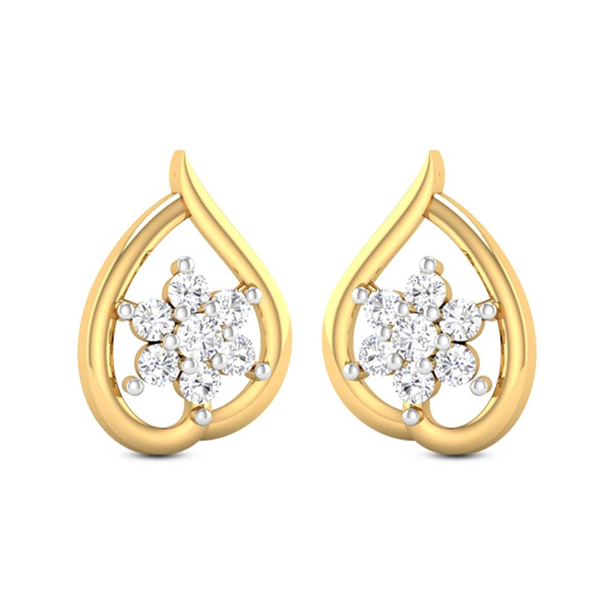 Dew Diamond Earrings