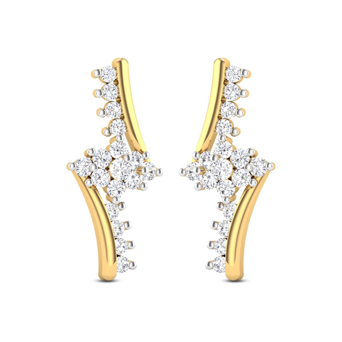 Ivory Diamond Earrings