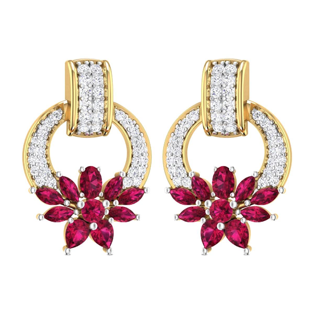 Floris Stud Earrings