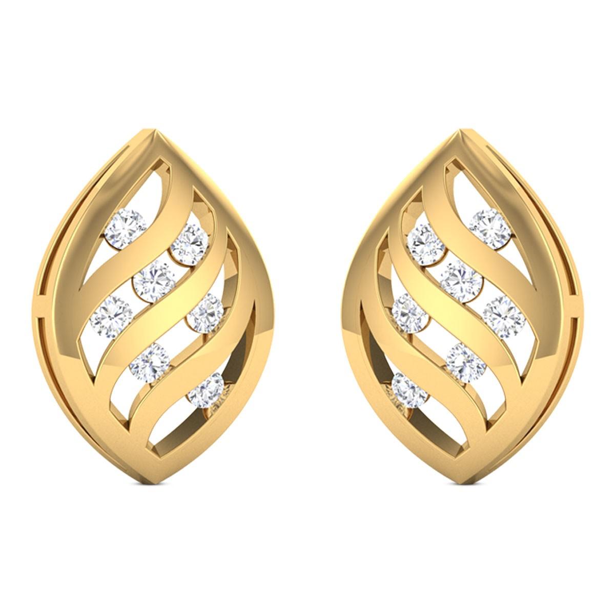 Delia Diamond Earrings