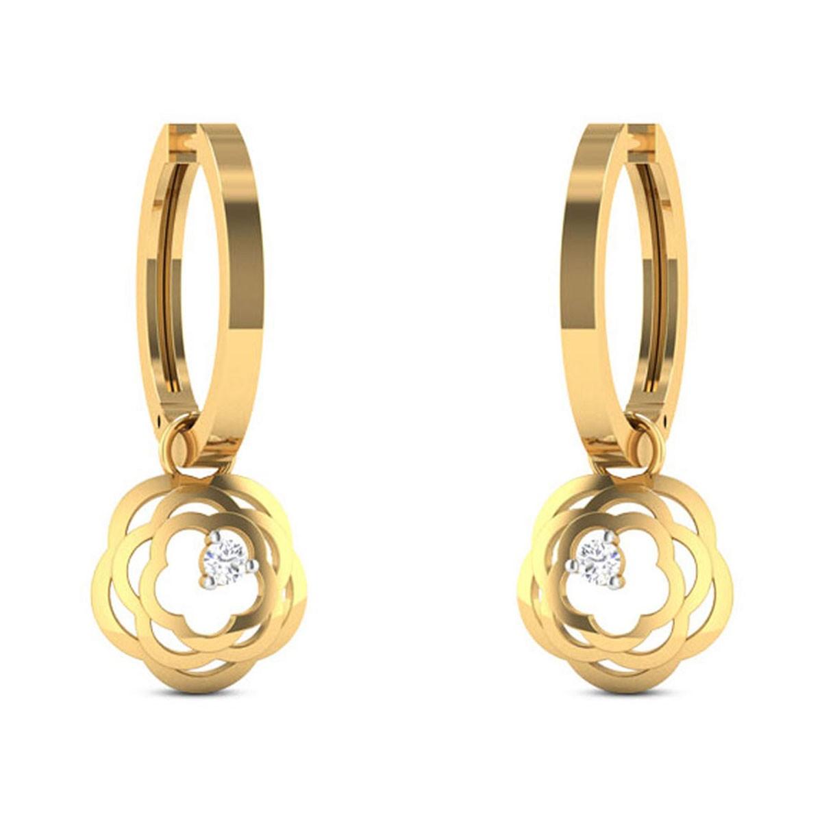 Beethoven Diamond Earrings