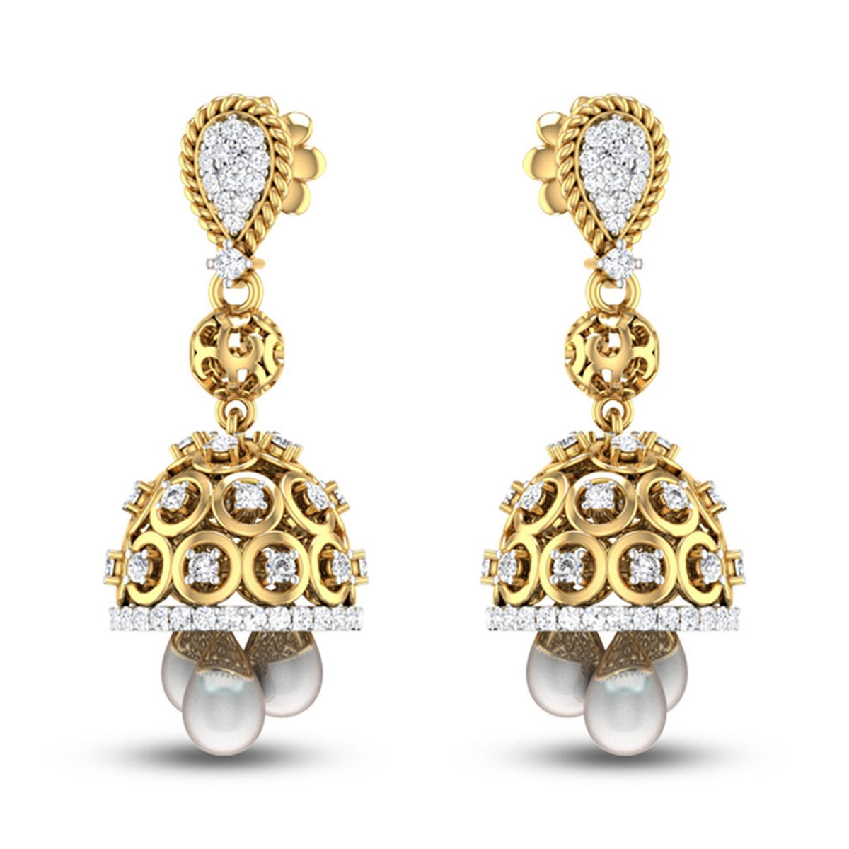Xeni Diamond Earrings