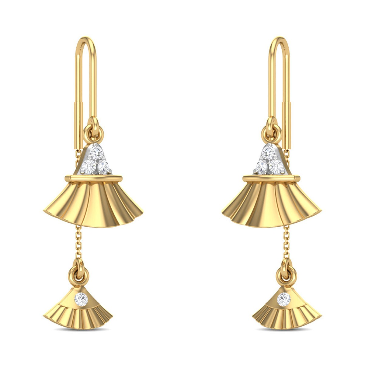 Jasminah Sui Dhaga Diamond Earrings