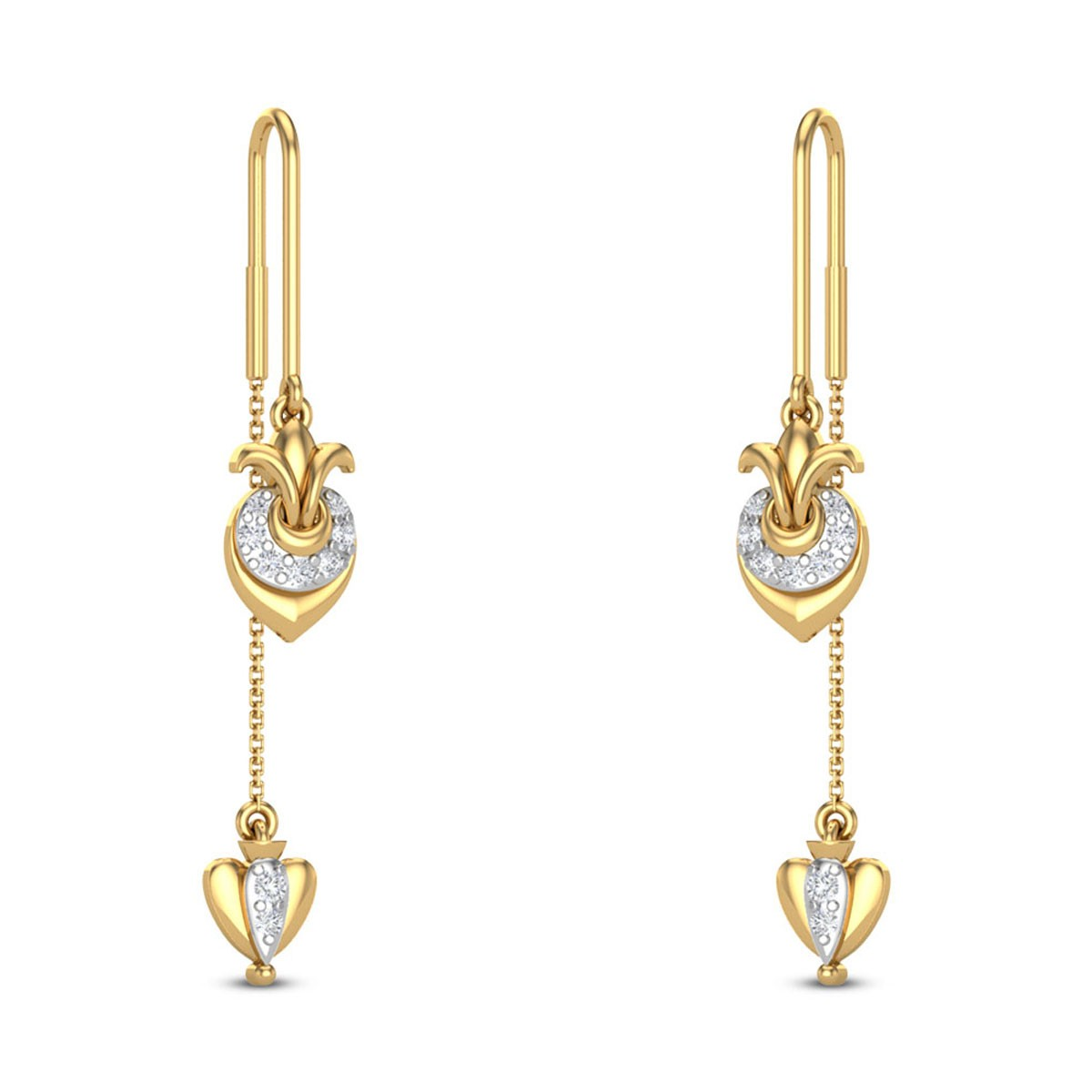 Jasmer Sui Dhaga Diamond Earrings