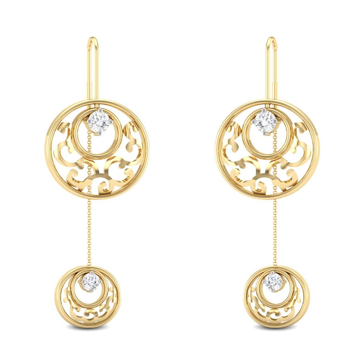 Jadie Sui Dhaga Diamond Earrings